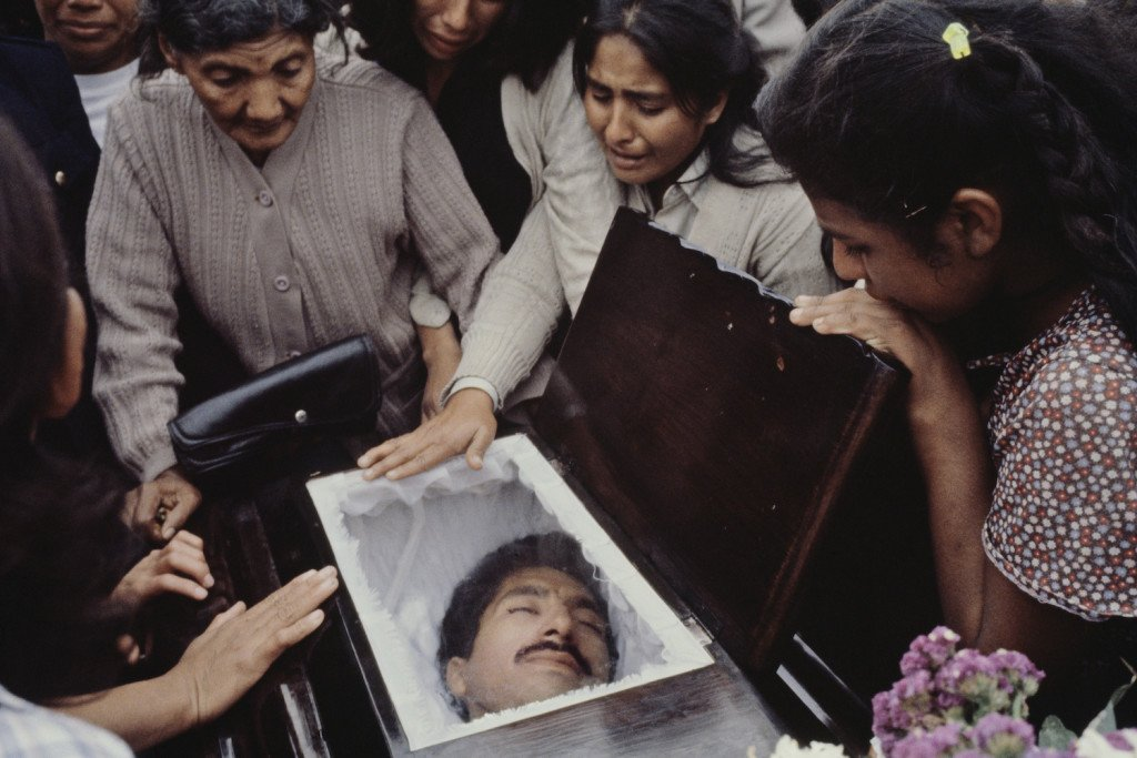 Guatemala (February/March 1982) - Luis Godoy Cemetery.